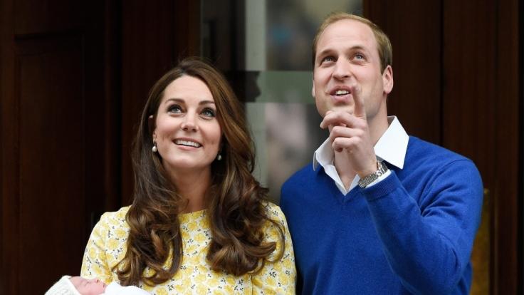William und Kates Tochter folgt steht hinter ihrem Bruder George auf Rang 4 in der Thronfolge. (Foto)