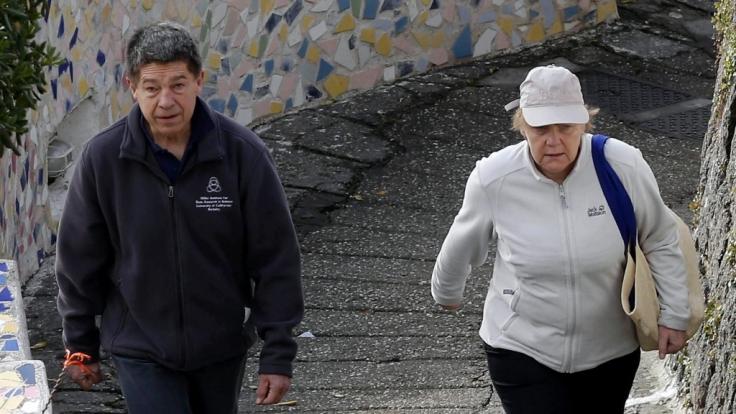 Immer einen Schritt voraus: Angela Merkel. (Foto)