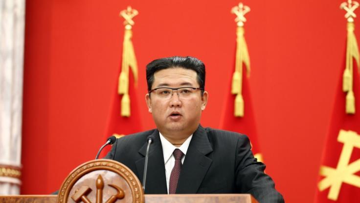 Kim Jong-un macht die USA für die Lage in Nordkorea verantwortlich. (Foto)