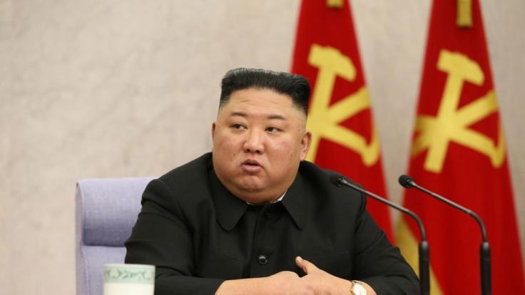 Kim Jong-un hat in Nordkorea wieder Raketen getestet. (Foto)