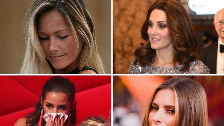 Tränen, Dramen und Herzschmerz - bei den Promi-Damen Helene Fischer, Kate Middleton, Sarah Lombardi und Sophia Thomalla war diesese Woche so einiges los. (Foto)