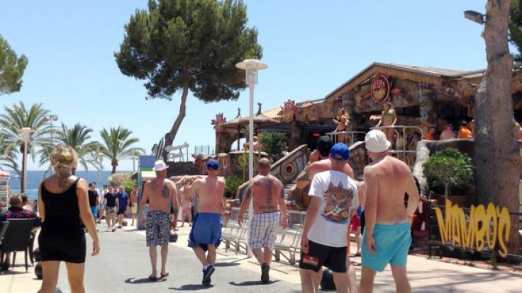Magaluf ist vor allem bei britischen Touristen beliebt. (Foto)