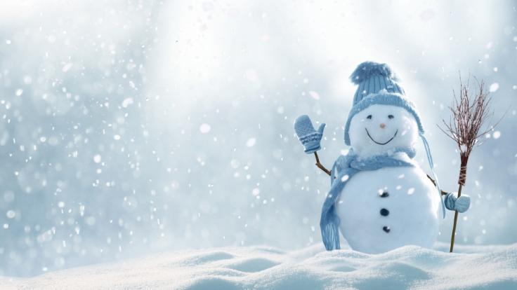 Auch in diesem Jahr werden Schneemänner wohl eher selten so üppig ausfallen.