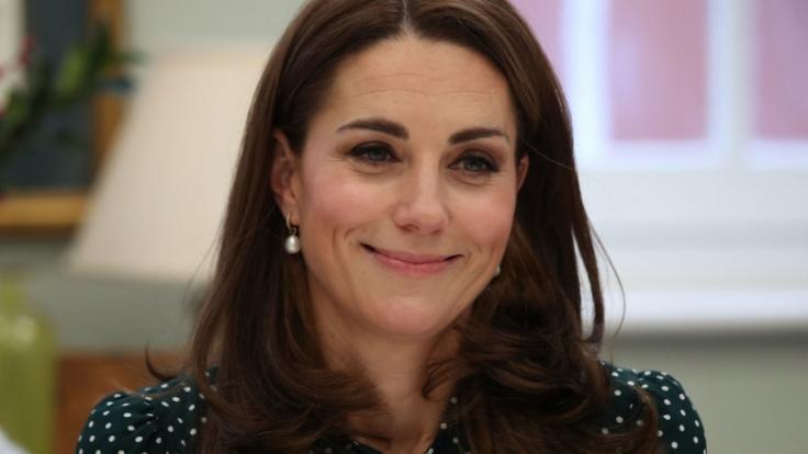 Kate Middleton hat der Queen einen Besuch abgestattet. (Foto)