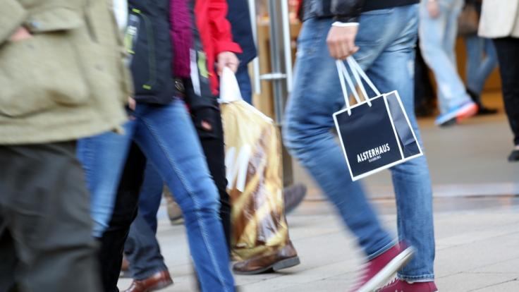 In vielen Bundesländern haben die Geschäfte auch am Sonntag geöffnet.