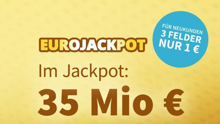 Der EuroJackpot wurde letzten Freitag nicht geknackt und steht in der Ziehung am Freitag, 18.06.2021 jetzt bei 35 Mio €. (Foto)