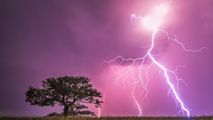 Drohen uns im Juli etwa zahlreiche Unwetter? (Foto)