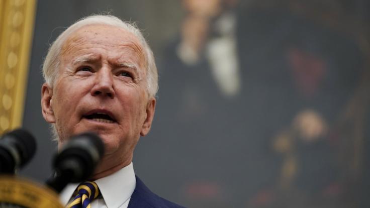 Joe Biden zeigte sich zuletzt bestrebt, zum Atomabkommen zurückzukehren. (Foto)
