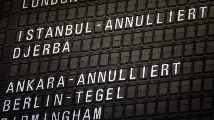 Zahlreiche Fluglinien haben Flüge in die Türkei gestrichen.