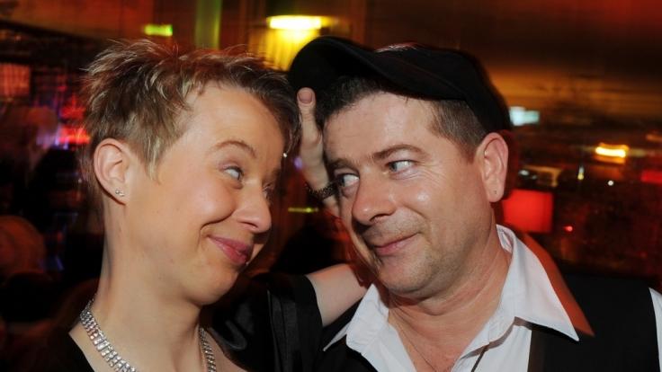 Michael Hirte und Jenny beim Echo 2012 in Berlin.
