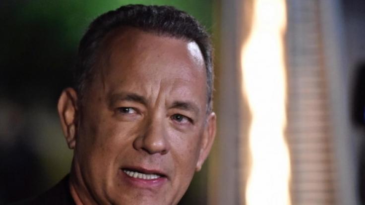 """Schauspieler Tom Hanks ist spätestens seit """"Forrest Gump"""" und """"Philadelphia"""" in die oberste Liga der Hollywoodstars aufgestiegen. (Foto)"""