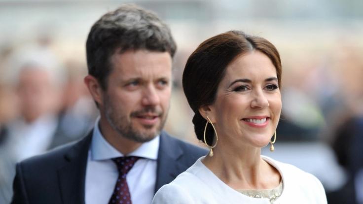 Das Kronprinzenpaar Mary und Frederik besucht Deutschland.
