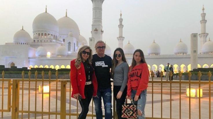 Die Geissens in Abu Dhabi. (Foto)