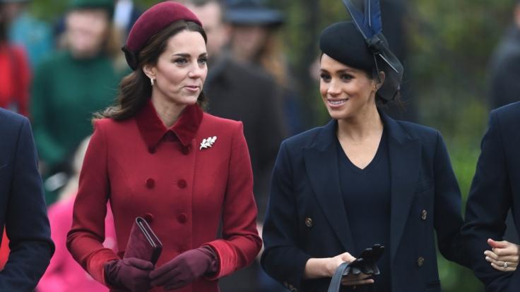 Kate Middleton und ihre Schwägerin Meghan Markle sind zum beliebten Ziel von Hasskampagnen im Internet geworden. (Foto)
