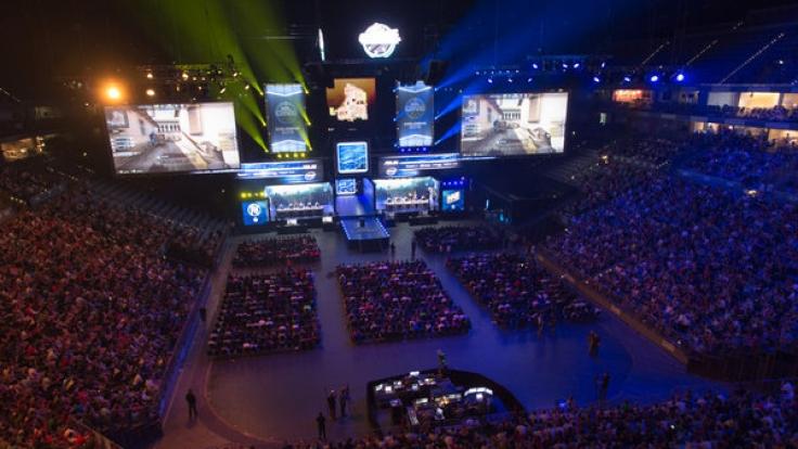 Im letzten Jahr besuchten täglich 14.000 Zuschauer die Lanxess-Arena in Köln.