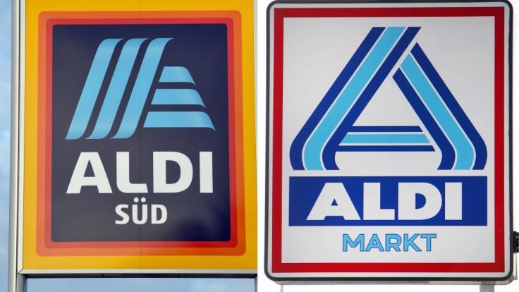 Aldi Süd (links) und Aldi Nord teilen sich filialmäßig Deutschland auf.