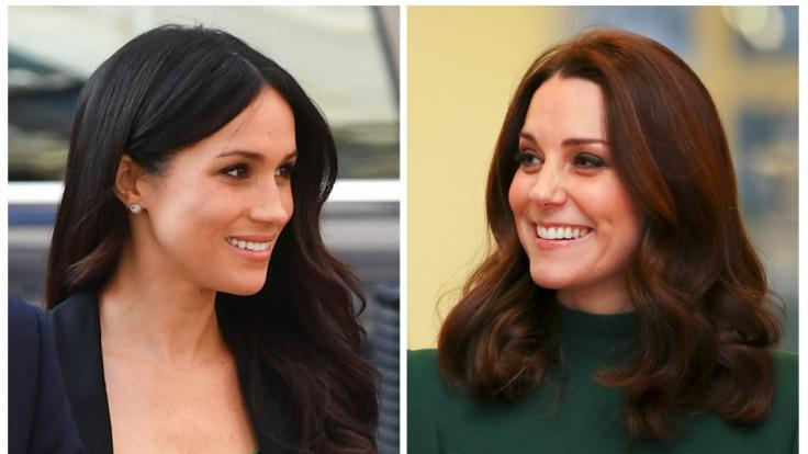Wie steht es wirklich um die Beziehung zwischen Meghan Markle und Kate Middleton? (Foto)